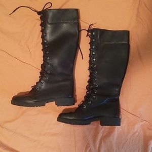 Timberland tall leather boots size 6.5
